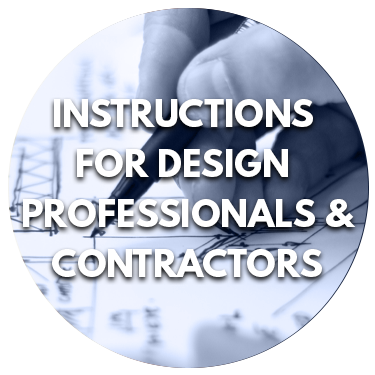 Instructions for Design Professionals and Contractors
